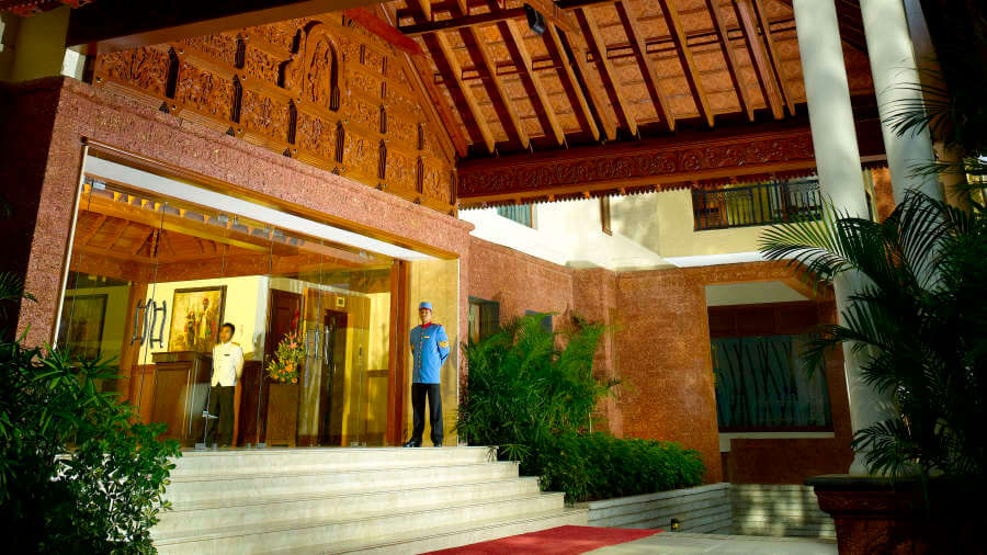 The Paul, Bangalore Bangalore Entrance Hotel The Paul Bangalore