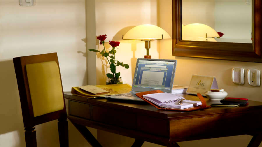 The Paul, Bangalore Bangalore study table rooms Hotel The Paul Bangalore