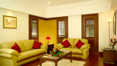 The Paul, Bangalore Bangalore living room Hotel The Paul Bangalore